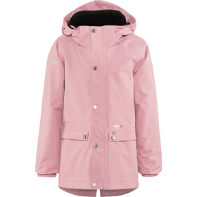 Isbjörn Cyclone Hard Shell Parker Kinder dusty pink